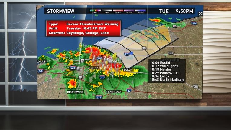Weather Chroma Key Set: Storms